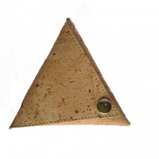 Monedero triangulo