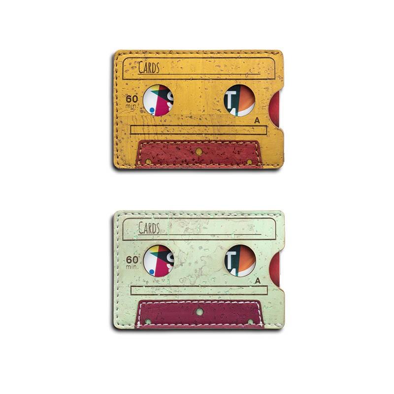 Tarjetero cassette